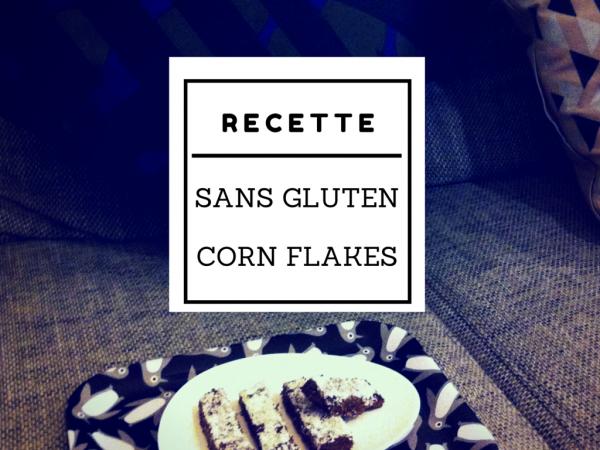 Recette barres céréales corn flakes sans gluten