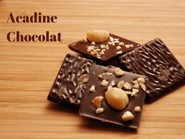 Acadine Chocolat : le chocolat sur-mesure