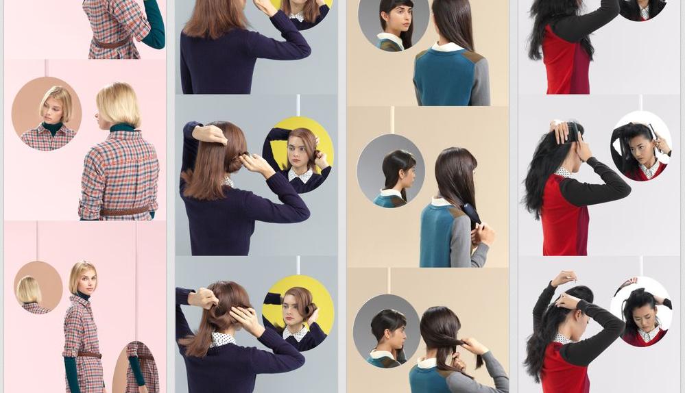 Les tutos coiffure Uniqlo